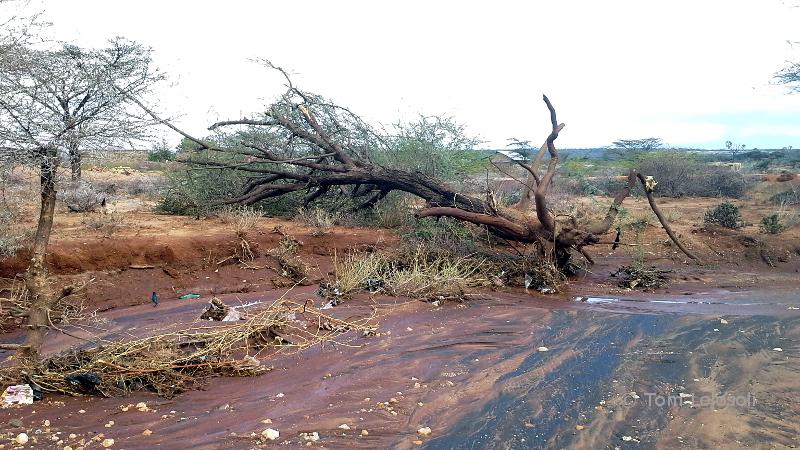 Sturm in Umoja - Schuldachreparatur