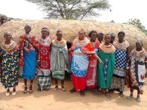 Foto der Frauen in Umoja
