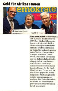 Erftkurier berichtet über FDP-Spende