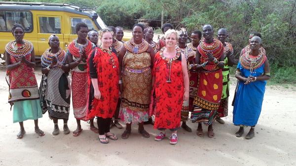 Besuch von Barbara und Eva Becht in Umoja