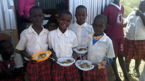 Projekt Schulmahlzeiten: Verschenken Sie Glück!