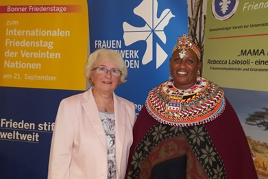 Kenya meets Germany – Rebecca Lolosoli zu Besuch in Bonn
