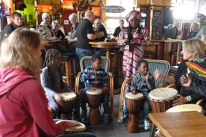 Trömmelchen meets African Drum