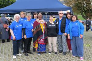 Mama Mutig beim Fest der Kulturen in Mönchengladbach