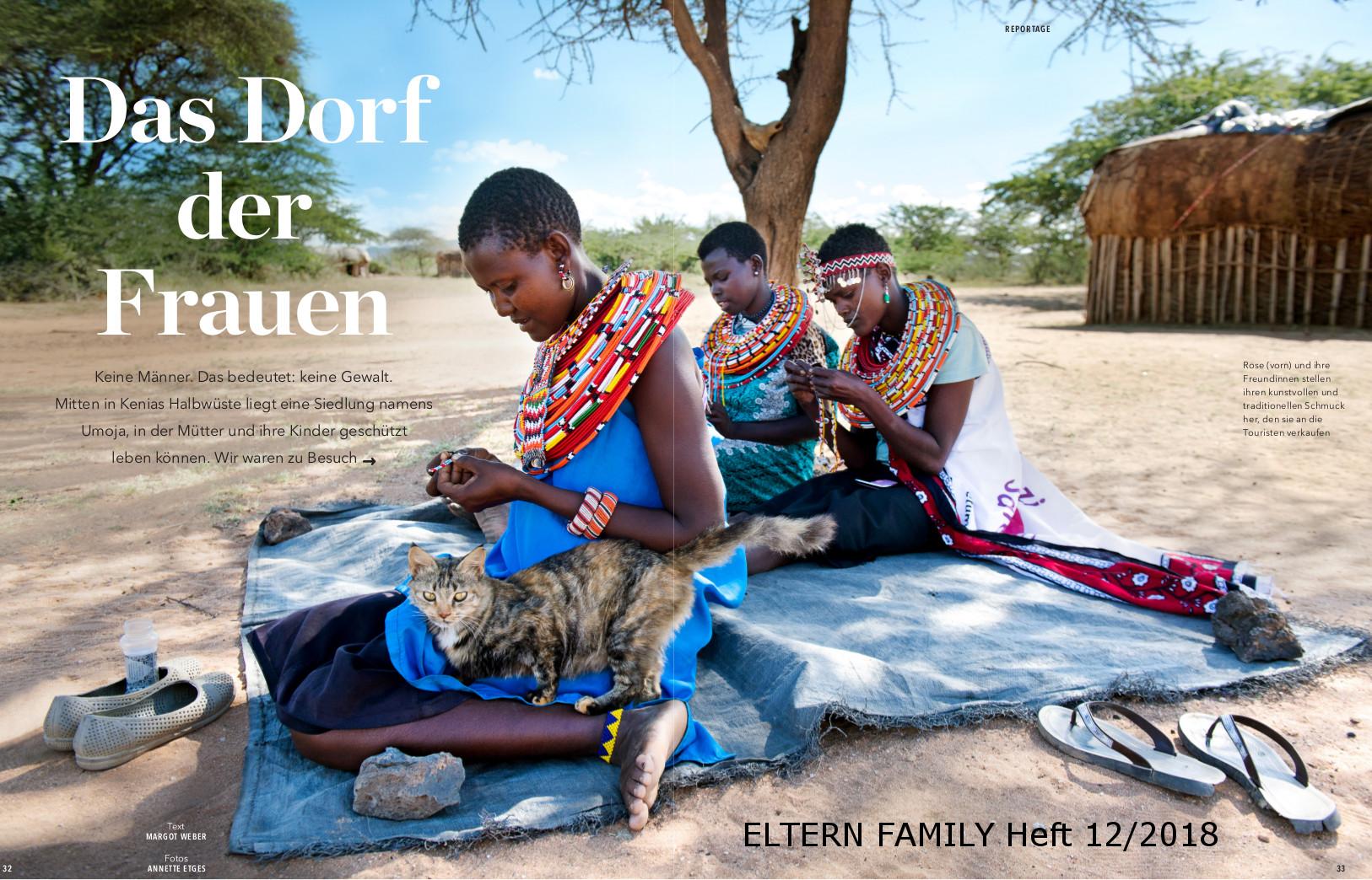 """""""ELTERN FAMILY"""" berichtet über Umoja"""