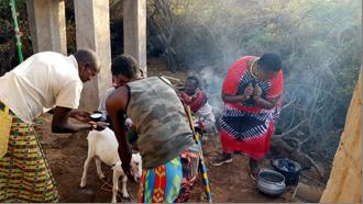 Samburu-Traditionen - Das Geburtsritual