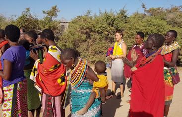 Sophie Nestle - Vier eindrucksvolle Wochen in Umoja