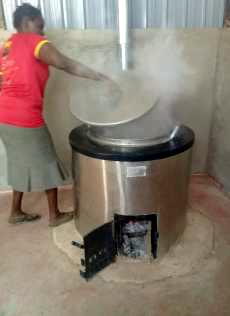 Neuer Kochofen